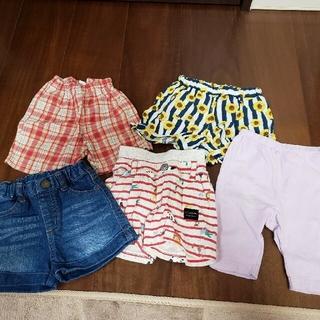 フタフタ(futafuta)の●専用●スタイセット●ブランドあり 女の子80cmズボンまとめ売り 夏物(その他)