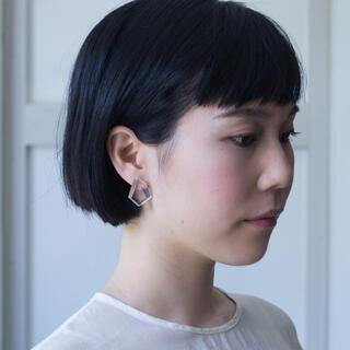 ヤエカ(YAECA)のsirisiri  シリシリ  KIRIKO Earrings SCRAPER(ピアス)