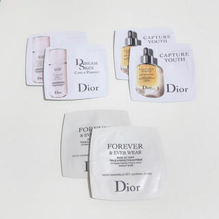 ディオール(Dior)のDior ディオール スキンケア ベースメイク サンプルセット(美容液)