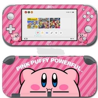 ニンテンドースイッチ(Nintendo Switch)の星のカービィ ニンテンドースイッチライトスキンシール 任天堂Switch(携帯用ゲームソフト)