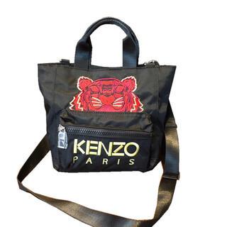 ケンゾー(KENZO)のKenzo ケンゾー ショルダーバッグ トートバッグ ハンドバッグブラック(ショルダーバッグ)