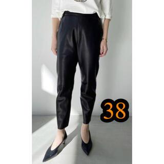 アパルトモンドゥーズィエムクラス(L'Appartement DEUXIEME CLASSE)の未使用 【RAW+/ロゥタス】Leather Cropped Pants38(クロップドパンツ)