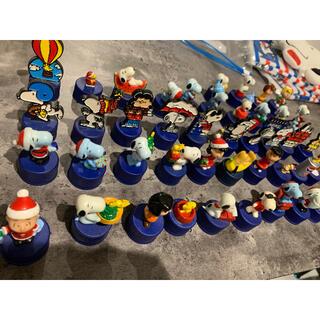 スヌーピー(SNOOPY)の非売品 スヌーピー ペットボトルキャップ 44個セット(キャラクターグッズ)