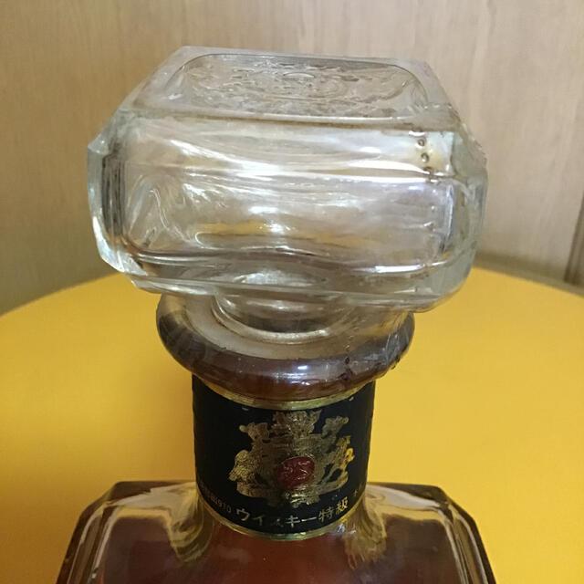 キリン(キリン)の最終値下げ キリンウイスキー クレセント エンブレム 特級ウイスキー 食品/飲料/酒の酒(ウイスキー)の商品写真