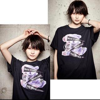 ミルクボーイ(MILKBOY)のKINGLYMASK Tシャツ 黒(Tシャツ(半袖/袖なし))
