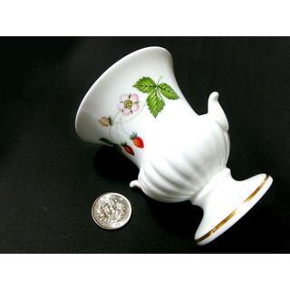 WEDGWOOD - 【Wedgwood】ミニチュア花瓶(ワイルドストロベリー柄)