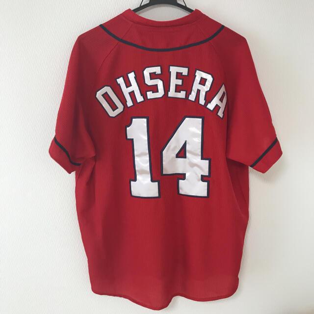 DESCENTE(デサント)の大瀬良大地 ユニフォーム ハイクオリティ 広島カープ スポーツ/アウトドアの野球(応援グッズ)の商品写真