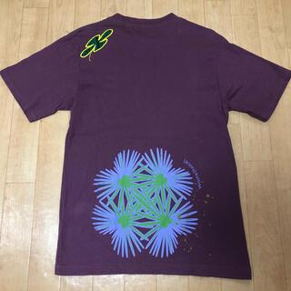 ウェストトゥワイス(Waste(twice))のwaste(twice)バックプリント刺繍Tシャツシャンティマッシュツータックス(Tシャツ/カットソー(半袖/袖なし))