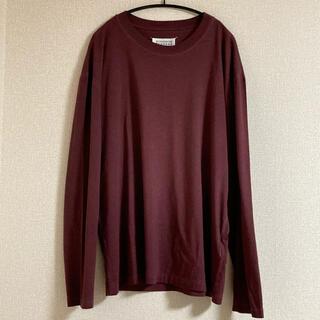 マルタンマルジェラ(Maison Martin Margiela)の20aw メゾンマルジェラ ロンT memory of SIZE 48(Tシャツ/カットソー(七分/長袖))