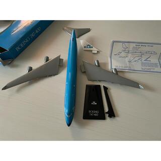 ジャル(ニホンコウクウ)(JAL(日本航空))のKLMオランダ航空 Boeing ボーイング747-400模型(模型/プラモデル)