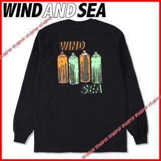 シー(SEA)のWIND AND SEA HIROTTON SPRAY L/S TEE(Tシャツ/カットソー(七分/長袖))