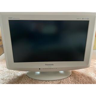 パナソニック(Panasonic)のPanasonic パナソニック 17インチテレビ ホワイト(テレビ)
