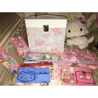 リズリサ(LIZ LISA)のリズリサ レア コスメ ボックス 化粧箱 ケース バニティ ハローキティ グッズ(メイクボックス)