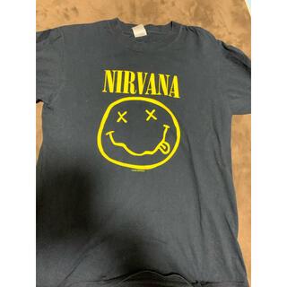 激レアM!NIRVANA 1992年製Tシャツ黒anvil製