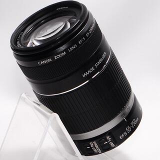キヤノン(Canon)の⭐手ぶれ補正付き⭐Canon 55-250mm 大迫力の望遠レンズ・美品(レンズ(ズーム))