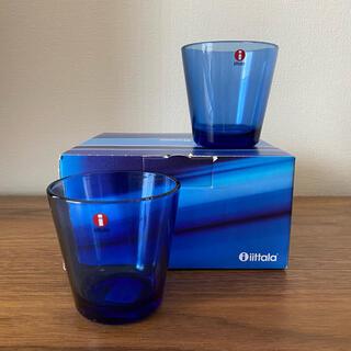 イッタラ(iittala)のけい様 専用 新品 イッタラ カルティオ ウルトラマリンブルー 2個セット(グラス/カップ)