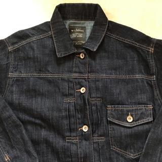 ダブルクローゼット(w closet)のwcloset デニムシャツ デニムジャケット(Gジャン/デニムジャケット)