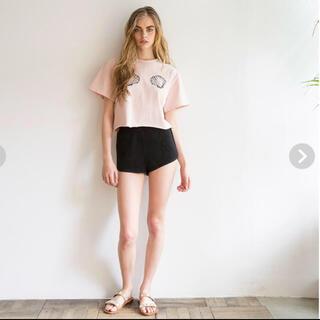 シールームリン(SeaRoomlynn)のシールーム リン シェル Tシャツ(Tシャツ(半袖/袖なし))