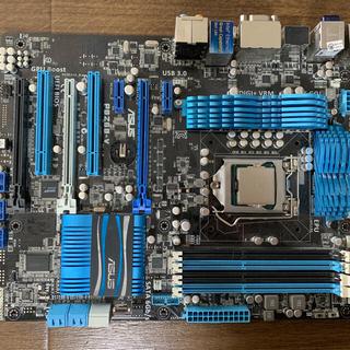 エイスース(ASUS)の【マザーボード+CPU】CORE-i3、ASUS PBZ68-V ジャンク(PCパーツ)