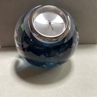 セイコー(SEIKO)の海上自衛隊 記念日 置き時計 オブジェ レア(その他)