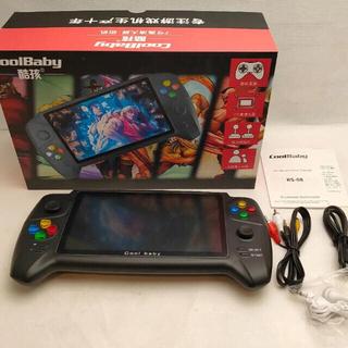 ニンテンドースイッチ(Nintendo Switch)のラクマ初!32GB付!美品⭐︎cool baby 7インチ ゲームエミュレーター(携帯用ゲーム機本体)