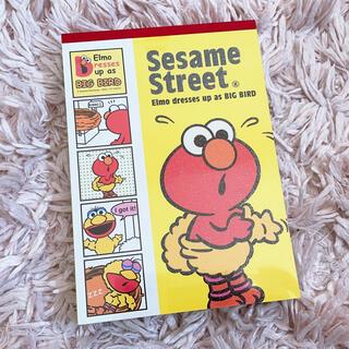セサミストリート(SESAME STREET)のメモ帳 エルモ💓(ノート/メモ帳/ふせん)