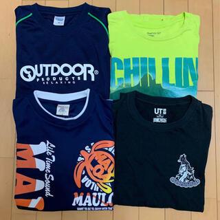 アウトドアプロダクツ(OUTDOOR PRODUCTS)のジュニアTシャツ4点セット(その他)