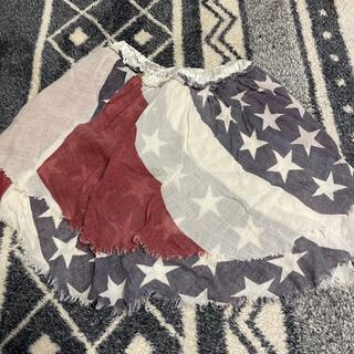 ゴートゥーハリウッド(GO TO HOLLYWOOD)のゴートゥーハリウッド  星条旗 スカート  140(スカート)