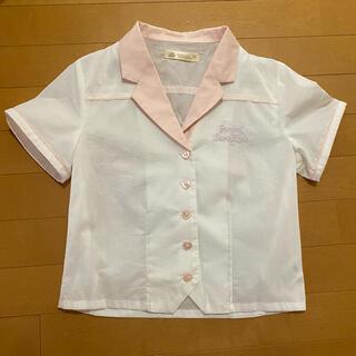 アンクルージュ(Ank Rouge)のアンクルージュ トップス ボーリングシャツ(カットソー(半袖/袖なし))