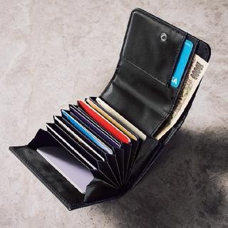 エストネーション(ESTNATION)のMonoMax 3月号付録 エストネーション カードがたっぷり入る蛇腹式ミニ財布(折り財布)
