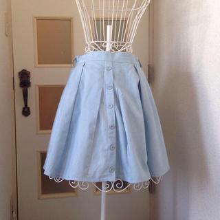 ジエンポリアム(THE EMPORIUM)のTHE EMPORIUMの水色スカート(ミニスカート)