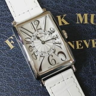 フランクミュラー(FRANCK MULLER)の【セール】FRANCK MULLER Long Island 952 白ベルト(腕時計)