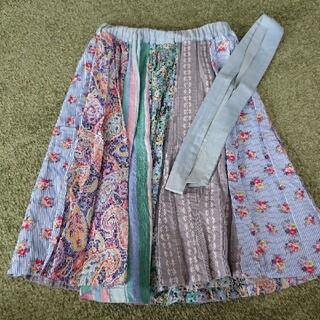 チチカカ(titicaca)の値下げ チチカカ 膝丈スカート フリーサイズ(ひざ丈スカート)
