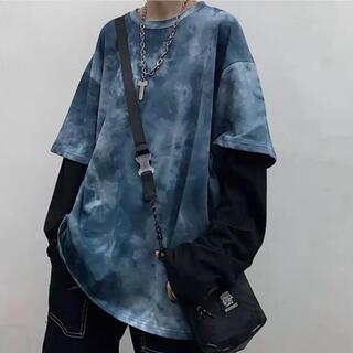 スタイルナンダ(STYLENANDA)のタイダイ柄 ロンT(Tシャツ/カットソー(七分/長袖))