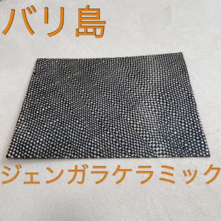 ジェンガラ(Jenggala)のランチョンマット 7枚セット ジェンガラケラミック  バリ島 竹製(テーブル用品)