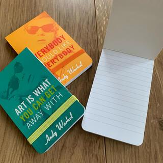 アンディウォーホル(Andy Warhol)のアンディ・ウォーホル 3冊セット ミニジャーナル ノート メモ帳(ノート/メモ帳/ふせん)