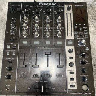 パイオニア(Pioneer)のPioneer DJM-750-K 極美品(DJミキサー)