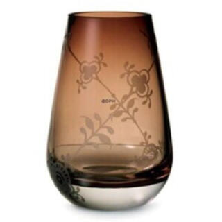 ロイヤルコペンハーゲン(ROYAL COPENHAGEN)のロイヤルコペンハーゲン リーフ ダスティローズ フラワーベース ブラウン(花瓶)