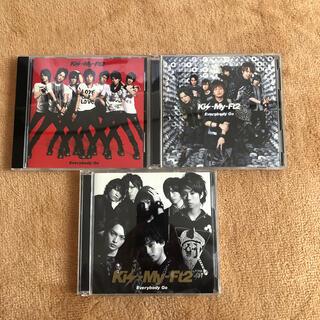 キスマイフットツー(Kis-My-Ft2)のKis-My-Ft2 / Everybody Go 3枚セット(アイドルグッズ)