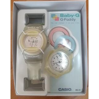 ベビージー(Baby-G)のbaby-G スヌーピーコラボ(腕時計)