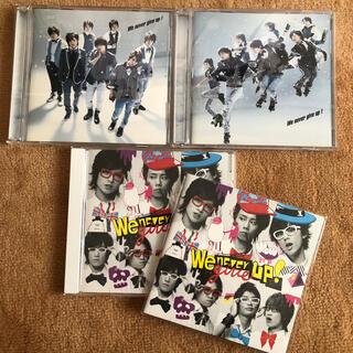 キスマイフットツー(Kis-My-Ft2)のKis-My-Ft2 / We never give up! 3枚セット(アイドルグッズ)