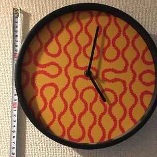 ヴィヴィアンウエストウッド(Vivienne Westwood)のスクイグル柄 時計(置時計)