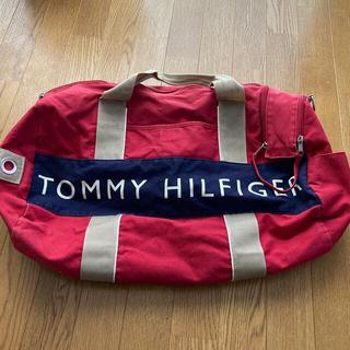 TOMMY HILFIGER - TOMMYHILFIGER ボストンバッグ 赤