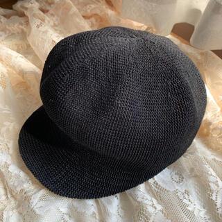ザラ(ZARA)のキャスケット 帽子(キャスケット)