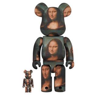 メディコムトイ(MEDICOM TOY)の【新品】BE@RBRICK Mona Lisa 100% & 400%(その他)