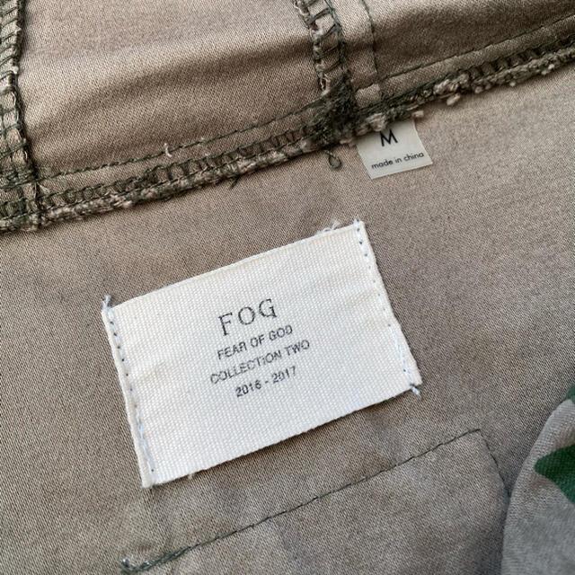 FEAR OF GOD(フィアオブゴッド)のFOG fear of god Camo Anorak Jacket メンズのジャケット/アウター(ミリタリージャケット)の商品写真