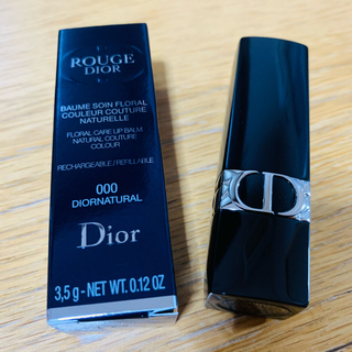 Dior - DIOR 新品 未使用 ルージュディオール 000 ディオールナチュラルサテン