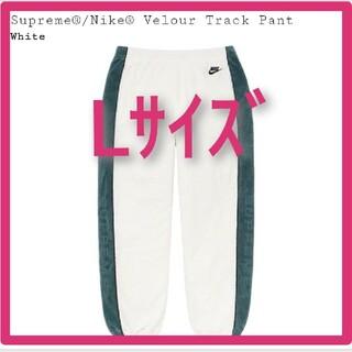 シュプリーム(Supreme)のL white Supreme Nike Velour Track Pant(その他)