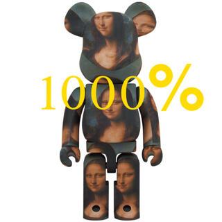 メディコムトイ(MEDICOM TOY)のMEDICOM TOY  BE@RBRICKMona Lisaモナリザ1000%(その他)