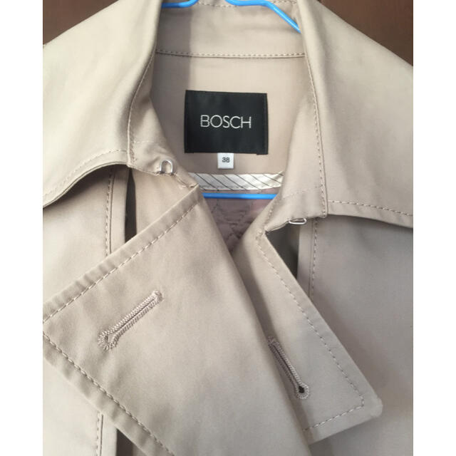 BOSCH(ボッシュ)のボッシュ トレンチ コート ライナー付 ロングコート レディースのジャケット/アウター(トレンチコート)の商品写真